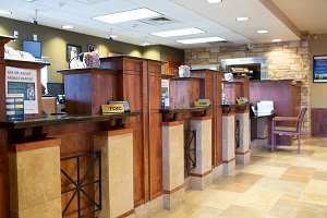 Image of the Canon City Branch Lobby
