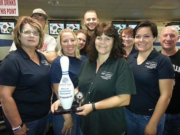 Canon Employees bowl for Great Futures
